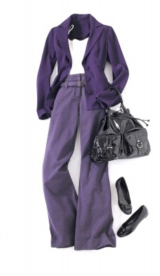 Newport News purple outfit