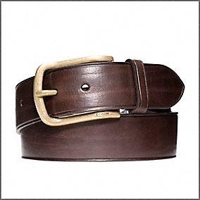 mens brown belt