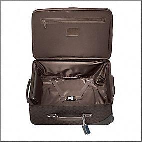 open suit case