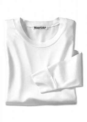 white silk T