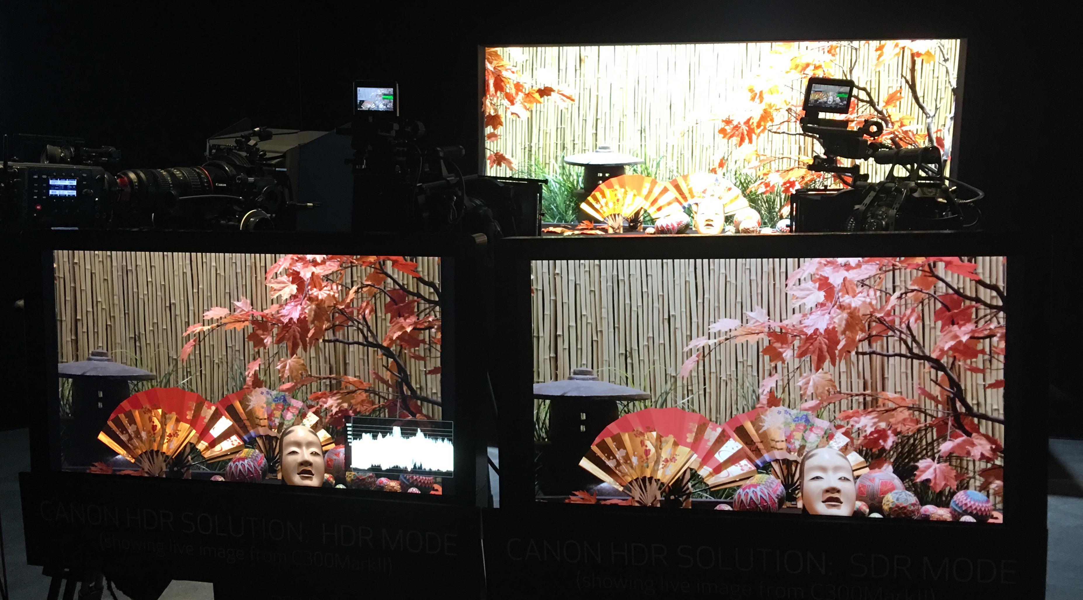 Canon HDR vs SDR Comparison